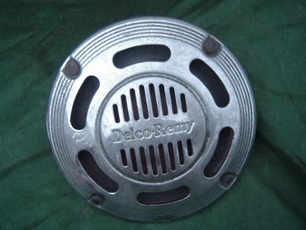 DELCO REMY 17 claxon horn hupe  6 volt 1930's
