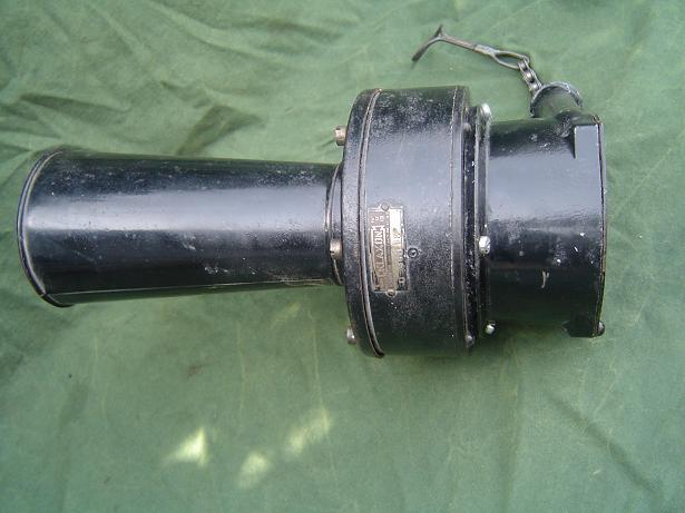 claxon KLAXON  england mechanische toeter horn hupe 1920's