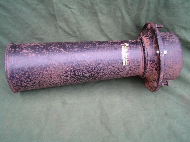 SPARTON claxon 1940's 6 volt low tone klaxon horn  model 118 V ?
