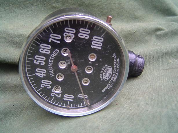 CORBIN USA  kilometerteller 100 KM speedometer tachometer SOLD