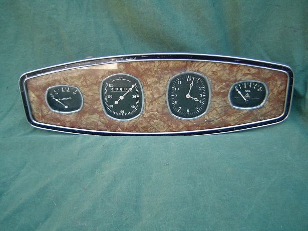 auto dashbord uit 1935  jsgus isgus ADLER ? armaturenbrett pkw o.k. instrumente Frankfurt /Main