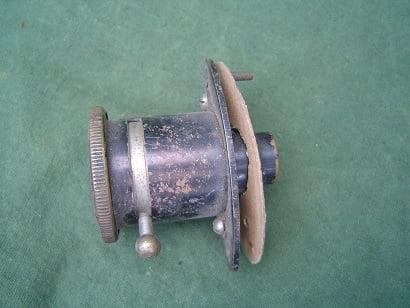 P & H dashbord switch / lamp  dash 1920's car ? dashbord lampje / schakelaar