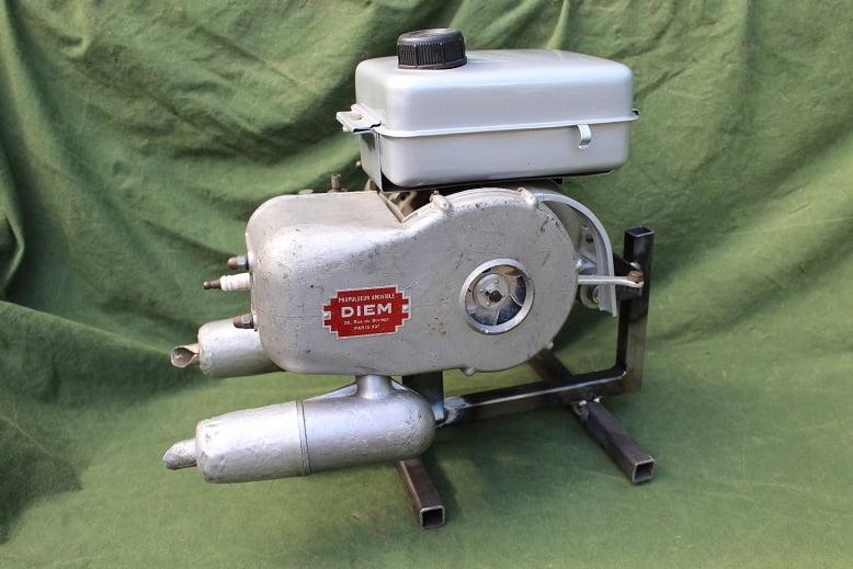 DIEM hulpmotor cyclemotor hilfsmotor 1950's
