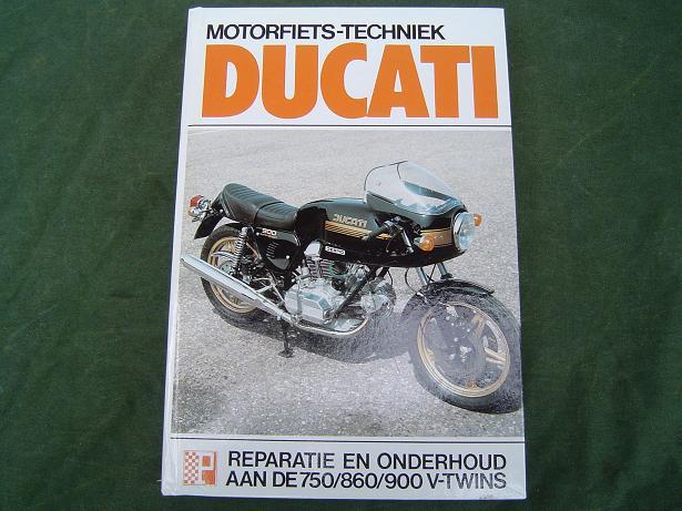 DUCATI  750 860 900   GT , SS , GTS  1971 – 1977 werkplaatshandboek