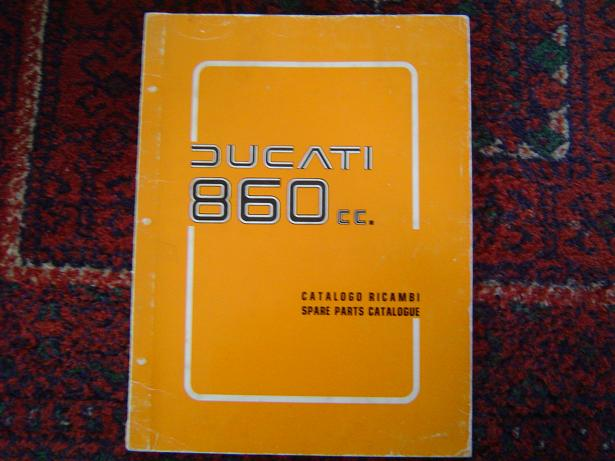 DUCATI 680 cc 1975  spare parts catalogue