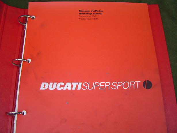 DUCATI 750 supersport  1999 workshop manual