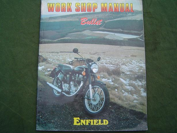 ENFIELD BULLET  workshop manual   India ?