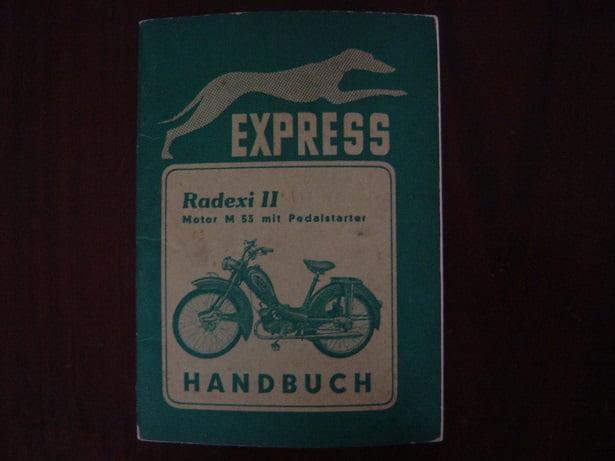 EXPRESS RADEXII II motor M53 handbuch