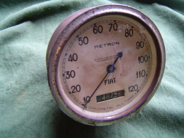 FIAT METRON 120 KM teller chilometri all'ora  speedometer 1930/1940 HELD reserved