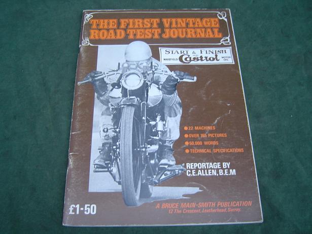 The First vintage roadtest journal
