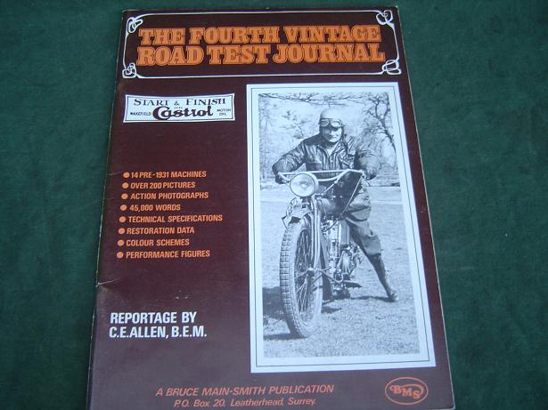 The Fourth vintage roadtest journal