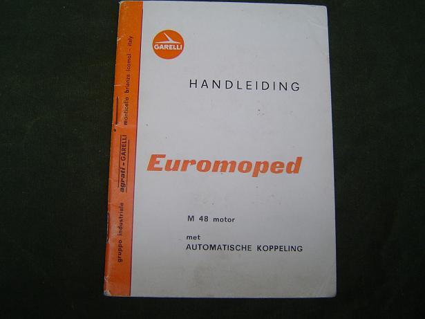 GARELLI euromoped met M 48 motor  M48