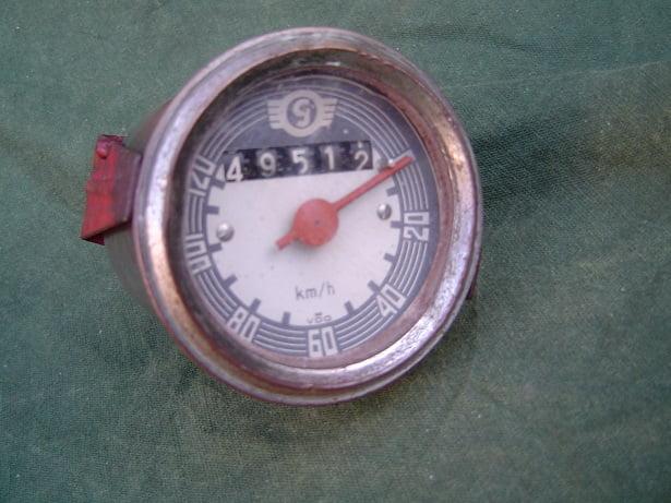 GOGGO 120 KM teller 1954  goggomobil ?? tachometer speedometer