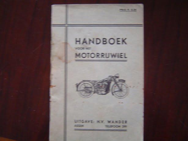 NEW IMPERIAL  handboek voor het motorrijwiel uitgave 1934 ?