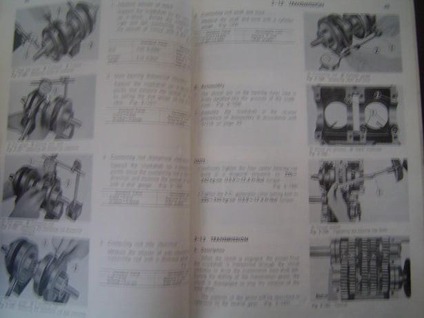 Honda Cb250 Cb350 Cl250 Cl350 1971 Twins Shop Manual