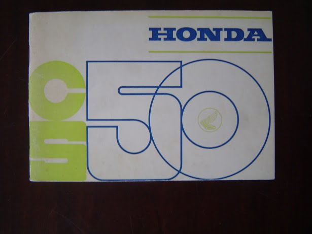 HONDA CS50 instruktie boekje  CS 50  Honda 50 sports