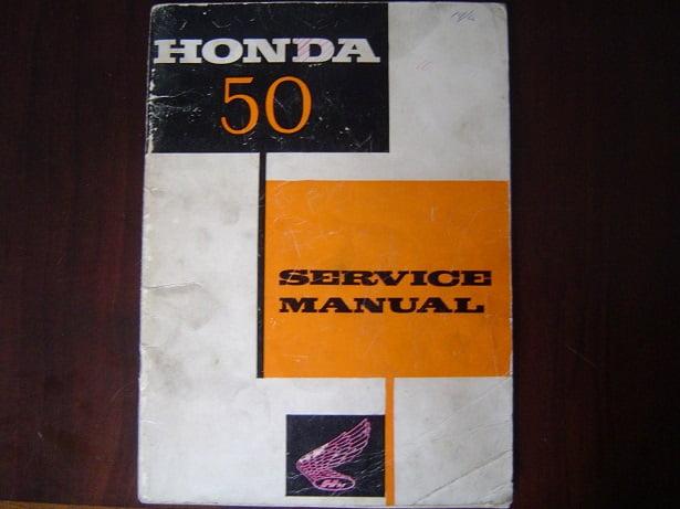 HONDA 50  1968  C 102  C 110 service manual C102 C110