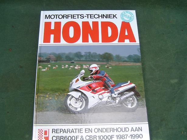 HONDA CBR600F CBR1000F 1987 – 1990 werkplaatsboek CBR 600 1000