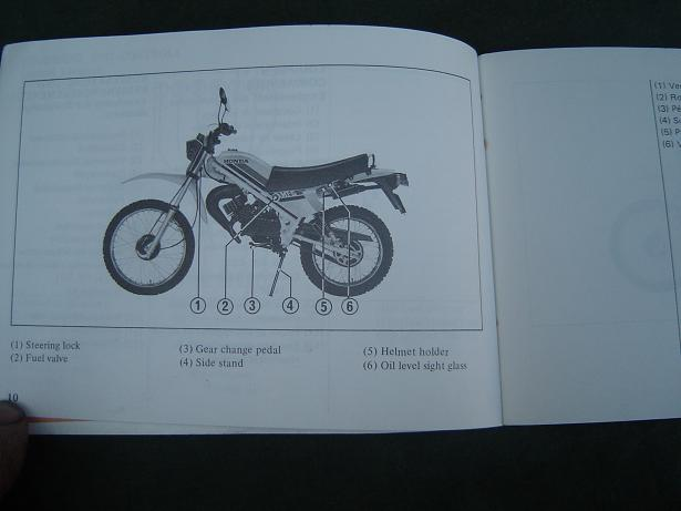 honda mt 50 e 1979 owner 39 s manual simons old motorcycle. Black Bedroom Furniture Sets. Home Design Ideas
