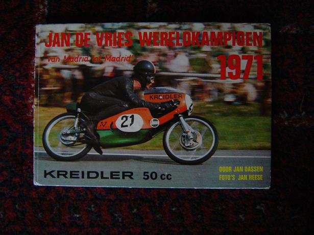 Jan de Vries wereldkampioen 1971 KREIDLER