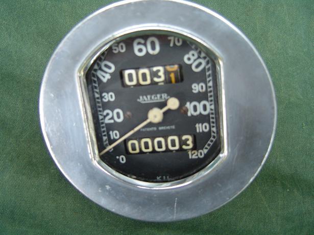 JAEGER teller 120 km speedo tacho