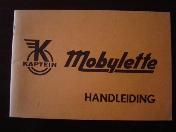 KAPTEIN MOBYLETTE 1968 handleiding