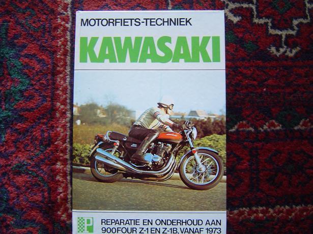 KAWASAKI  900  FOURS Z 1 en Z 1B vanaf 1973