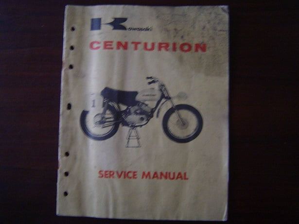 KAWASAKI CENTURION  G31M service manual  99 cc motorcycle cross