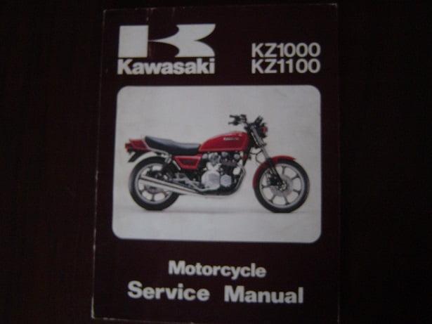 Kawasaki Kz1000 Online Manual