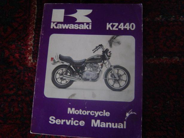 KAWASAKI KZ 440  1979  ltd ? service manual