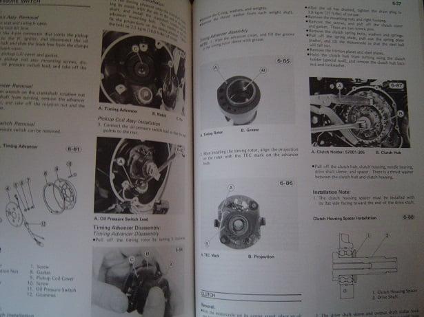 Kawasaki Kz650 1981 Service Manual Kz 650 Csr 650