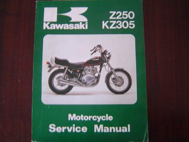 kawasaki z250 kz305 1979 – 1981 service manual z 250 kz ... kawasaki z1000 wiring diagram