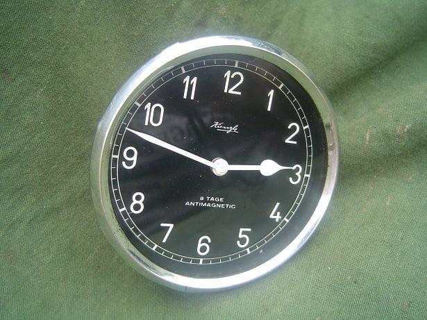 KIENZLE 8 tage antimagnetic uhr clock auto klok 1940 's / 1950's