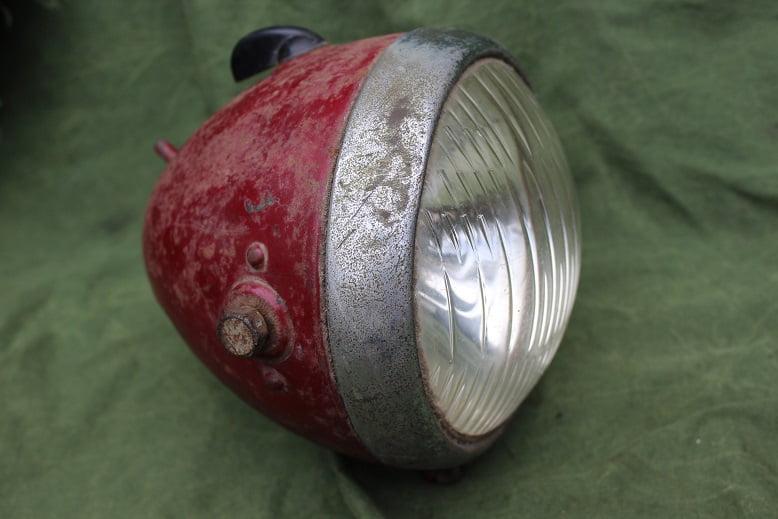 BOSCH motorfiets koplamp scheinwerfer headlamp 1940 ?? DKW ??