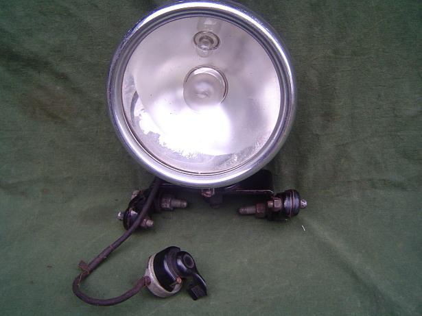 HÄCKEL koplamp headlamp motorrad scheinwerfer 1930 's DKW ??