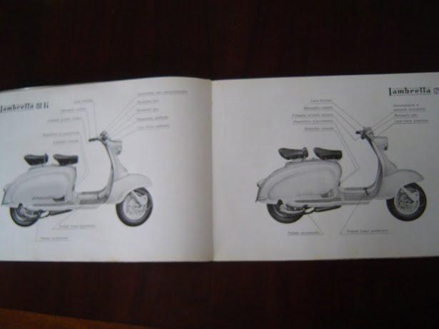 Lambretta 125li 150li Istruzioni Per Le Stazioni Di Servizio 1959 125 150 Li
