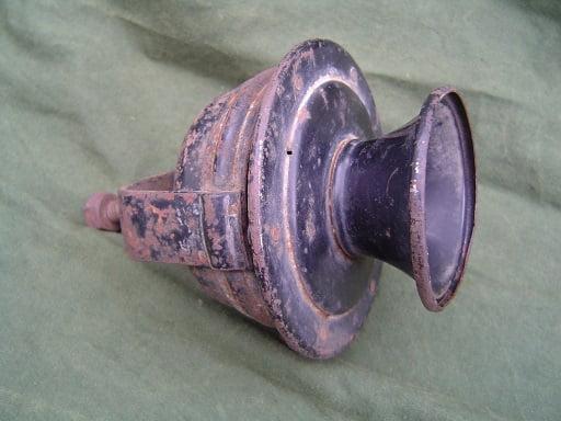 RIEMANN claxon horn hupe 1920's  no. 5671d4V trichterhupe