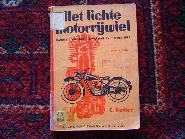 het lichte motorrijwiel  C.Buiter  1946