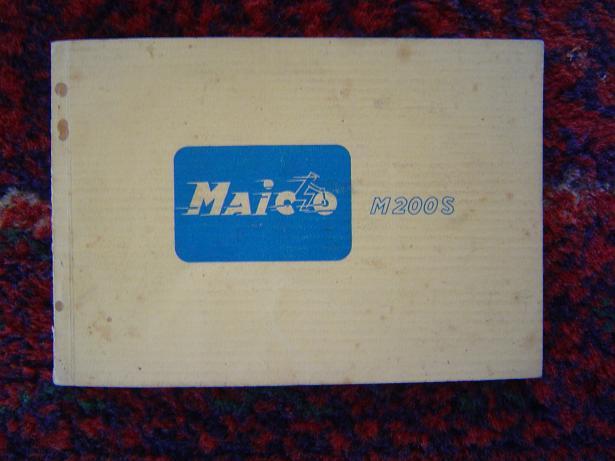 MAICO  M 175 en M 200 S  betriebsanleitung
