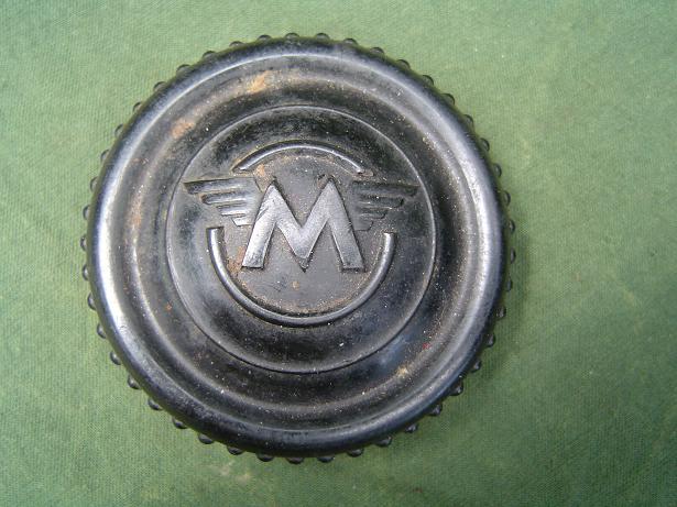 MATCHLESS stuurdemper knop  steering damperknob 1940 's  ??