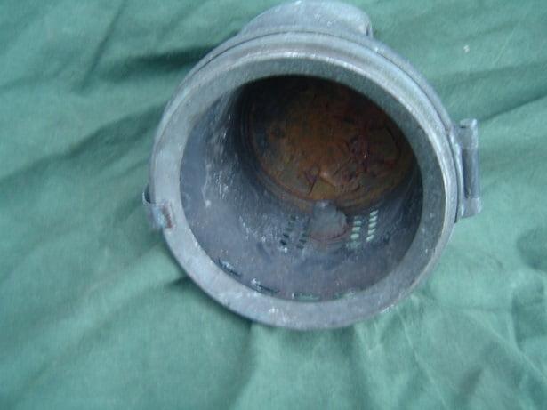 MILLER  carbid lamp achter bevestiging 1910 ? acetylene lamp rearclamp