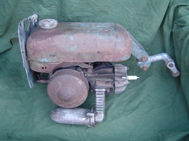 TROJAN MINIMOTOR  1952 ? hulpmotor hilfsmotor cyclemotor