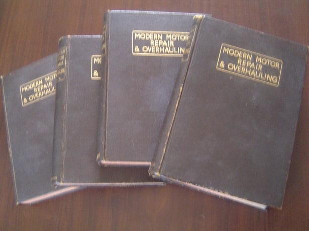 MODERN MOTOR REPAIR & OVERHAULING vol. 1 – 4   +/- 1935