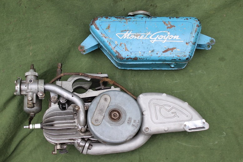 MONET GOYON 1952 ? hulpmotor hilfsmotor cyclemotor cyclomoteur