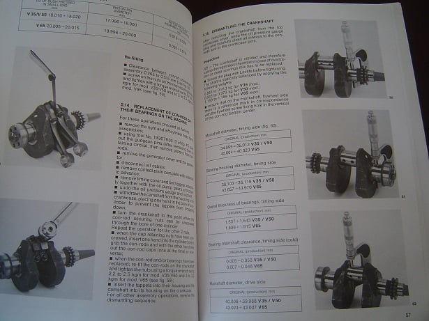 moto guzzi v35 v50 v65 imola monza 1989 workshop manual v