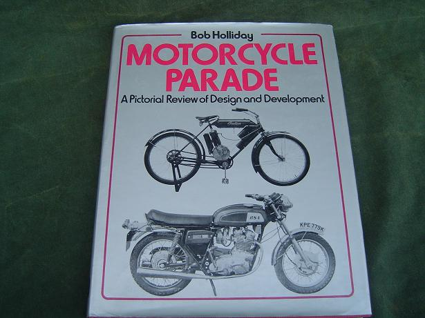 Motorcycle parade Bob Holliday  1974