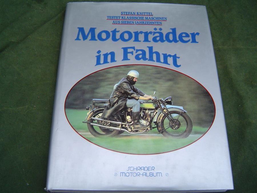 MOTORRÄDER in fahrt   Stefan  Knittel 1990  motorcycle tests