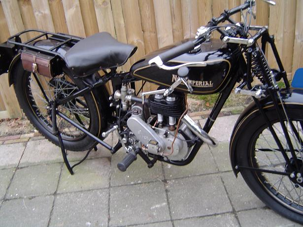 NEW IMPERIAL 1929 350 cc SV model 2 motorcycle SOLD