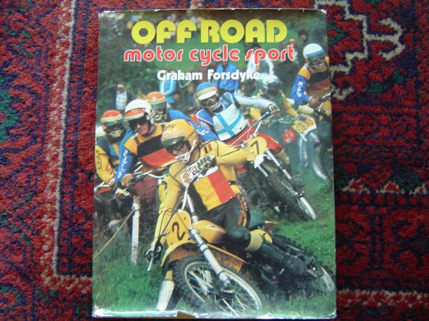 off road motor cycle sport Graham Forsdyke  1976