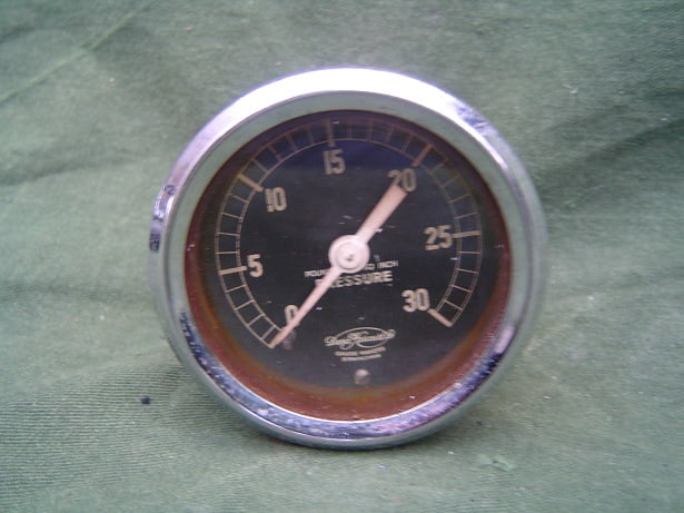 30 LBS olie drukmeter ?? oil pressure gauge ?? David Karcourt Ltd